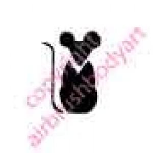 0214 mouse re-usable stencil